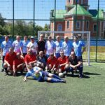 Спортивні змагання серед ветеранів футболу